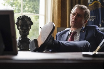 Vice-L'uomo nell'ombra - Sam Rockwell 'George W. Bush' in una foto di scena - Vice - L'uomo nell'ombra