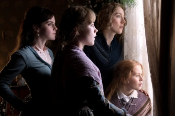 Piccole donne - (L to R): Emma Watson 'Margaret (Meg) March', Florence Pugh 'Amy March', Saoirse Ronan 'Josephine (Jo) March' ed Eliza Scanlen 'Elizabeth (Beth) March' in una foto di scena - Piccole donne